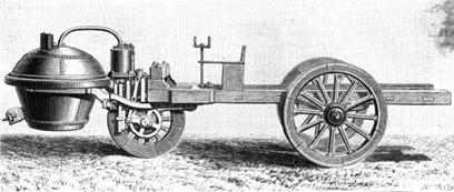Cugnot Steam Tractor