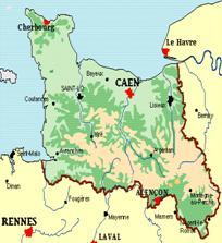 Normandie basse normandie la haute normandie les for Haute normandie basse normandie