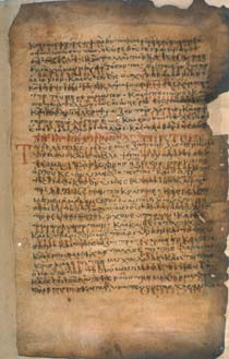 Gospel Book, 10th cent., with 12th cent. lections from the Old Testament